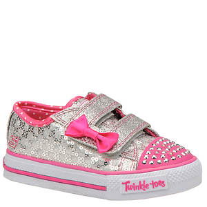 Skechers Twinkle Toes: Shuffles-Sweet Steps (Girls' Infant-Toddler)