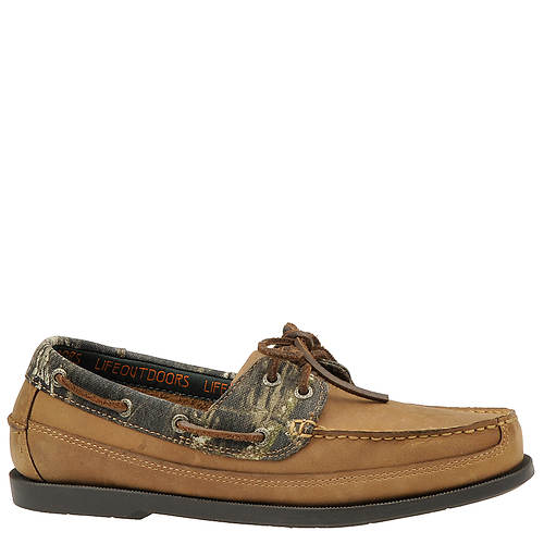 Life Outdoors Men's Camo Boat Shoe