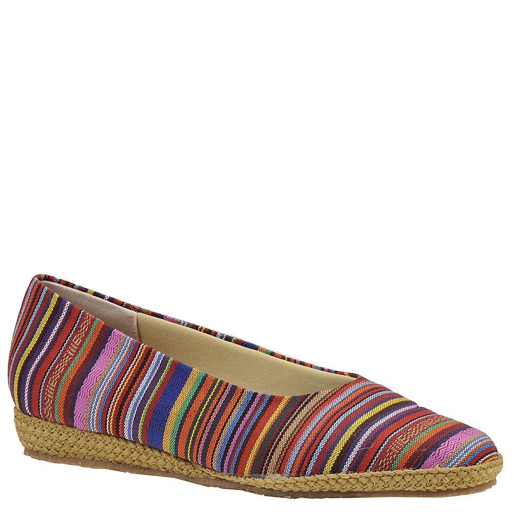 Retro Vintage Flats and Low Heel Shoes Beacon Womens Phoenix Slip-On Multi Slip On 8.5 W2 $39.95 AT vintagedancer.com