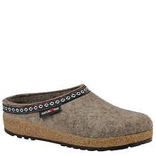 Haflinger Women's Classic Grizzly Leather Clog