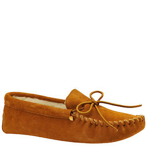 Minnetonka Men's Traditional Pile Lined Sof Sole Slipper
