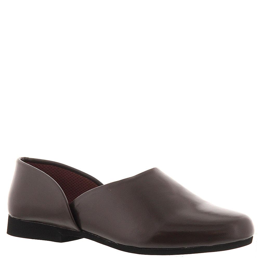 Edwardian Men's Shoes & Boots | 1900, 1910s Mens Fireside Brown Slipper 13 B $59.95 AT vintagedancer.com
