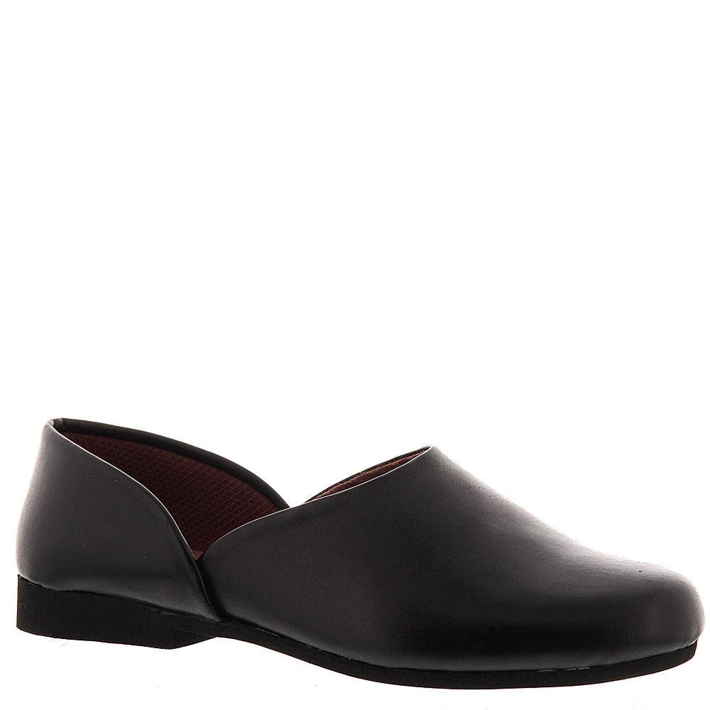 Edwardian Men's Shoes & Boots | 1900, 1910s Mens Fireside Black Slipper 12 E3 $59.95 AT vintagedancer.com