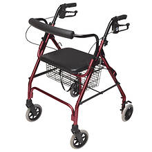 Lumex Walkabout Lite 4-Wheel Rollator