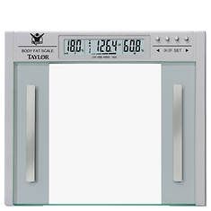 Taylor® The Biggest Loser Glass Body Composition Scale
