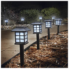 Set of 8 Lantern Solar Lights