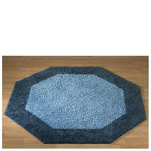Frisse Shag Octagon Rug-Midnight Blue