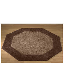 Frisse Shag Octagon Rug-Brown