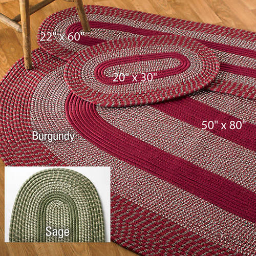 3 Piece Braided Rug Set Color Out Of Stock Figi S Gallery