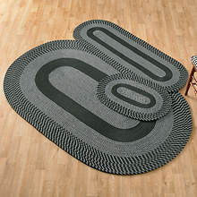 3-Piece Braided Rug Set