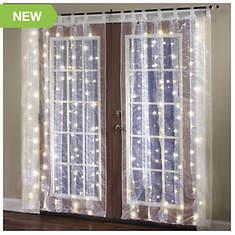 Tab Top Pre-Lit Window Panel