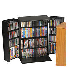 Locking Media Storage Cabinet