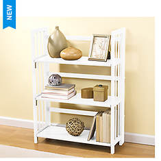Folding Mission Style Bookcase