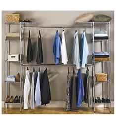 Expandable Zinc Closet Organizer