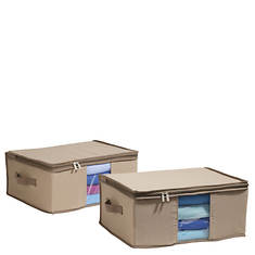 Canvas Storage Bags with Cedar Inserts (Pair)
