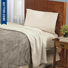 Biddeford® Micro Mink Heated Blanket