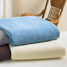SoftHeat® Microfleece Blanket-Natural