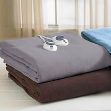 SoftHeat® Microfleece Blanket-Chocolate