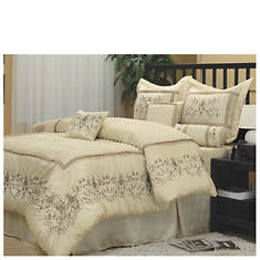 7-Piece Silken Bed Sets