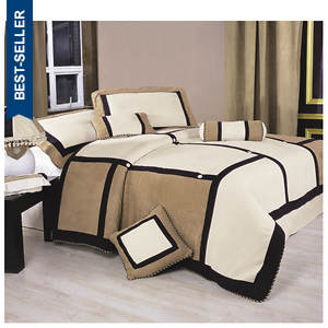 7-Piece Contemporary Graphic Bed Sets