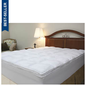 Fiberbed Topper with Fitted Skirt