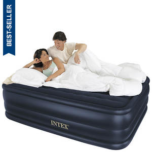 Intex® Raised Downy Queen Airbed