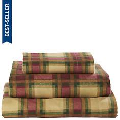 Patterned Flannel Sheet Set