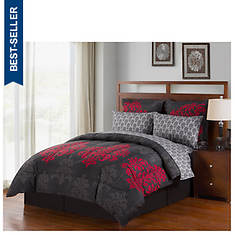 8-Piece Turnstyle Reversible Bed-In-A-Bag Set