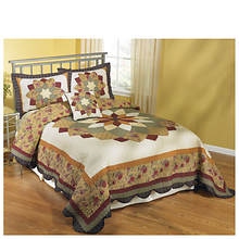 Virginia Waltz Quilted Bedspread