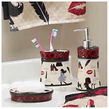 3-Piece Ceramic Bath Accessory Set