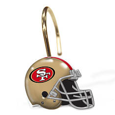 NFL Shower Curtain Rings by The Northwest Company