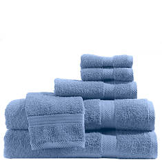 6-Piece Solid Color Towel Set