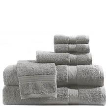 6-Piece Solid Color Towel Set