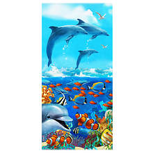Velour Animal Beach Towels
