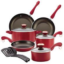 Paula Deen® 11 Piece Dishwasher Safe Cookware Set