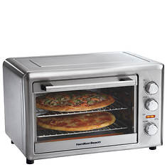 Hamilton Beach® Countertop Convection/Rotisserie/Bake/Broil Oven - Opened Item