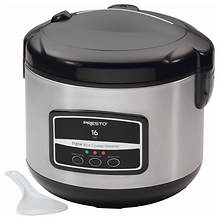 Presto® 16 Cup Digital Rice Cooker & Steamer