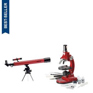 Tasco Telescope & Microscope Set