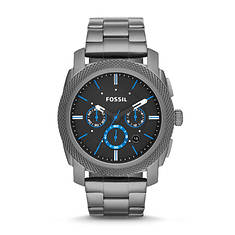 Fossil Men's Black Silicone Watch