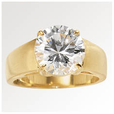 Women's CZ Solitaire Ring