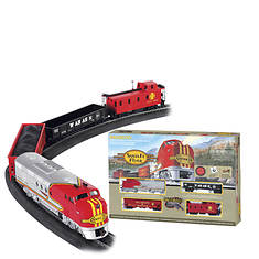Bachmann Santa Fe Flyer Electric Train Set