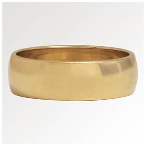 10K Gold 6mm Bands