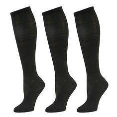 Steve Madden Women's SM2718 3-Pack Knee High Socks
