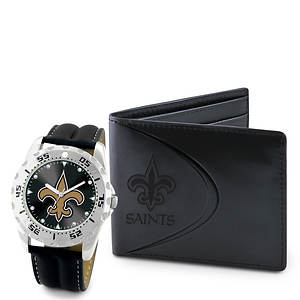 Men's NFL Watch & Wallet Set by Game Time
