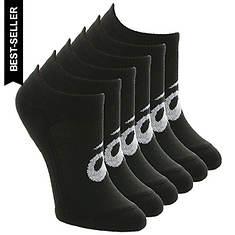 Asics Unisex 6-PackInvasion No Show Socks