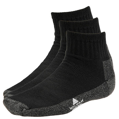 Wigwam At Work Quarter 3 Pack Quarter Socks