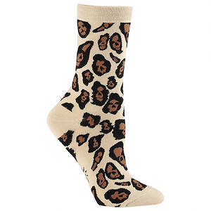 Sock It To Me Women's Leopard Crew Socks