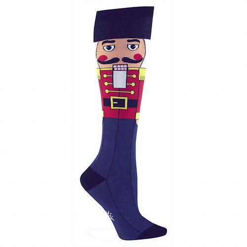 Sock It To Me Women's Nutcracker Knee High Socks