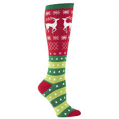 Sock It To Me Women's Sweater Knee High Socks