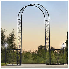 Lighted Garden Arch